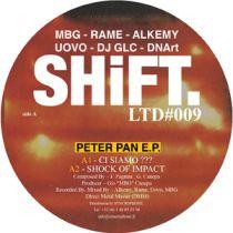 MBG-RAME-ALKEMY-UOVO - Peter Pan EP (DJ GLC & DNArt edits)