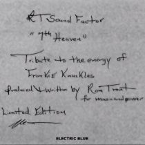 Ron Trent -  7th heaven - tribute to the energy of frankie knuckles