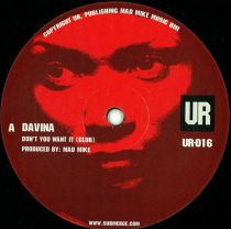 Davina ‎– Don't You Want It