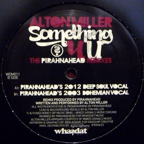 <a href=\'\'>Alton Miller/a> - Something 4 U (Pirahnahead Remixes)
