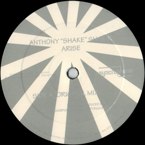 "<a href=\'\'>Anthony ""Shake\"" Shakir</a> - Arise (Trus\'me remix)"