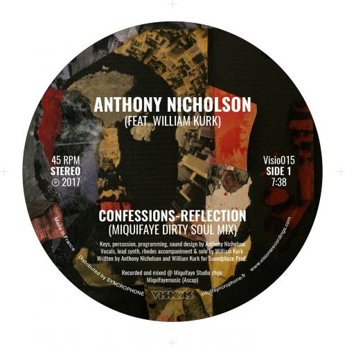 <a href=\'\'>Anthony Nicholson/a> Feat. William Kurk - Confessions