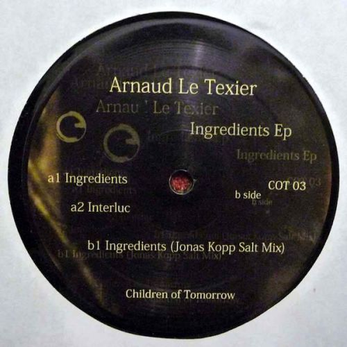 <a href=\'\'>Arnaud Le Texier</a> - Ingredients EP (<a href=\'\'>Jonas Kopp</a> remix)