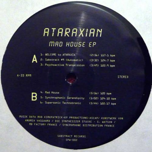 <a href=\'\'>Ataraxian</a> - Mad House EP