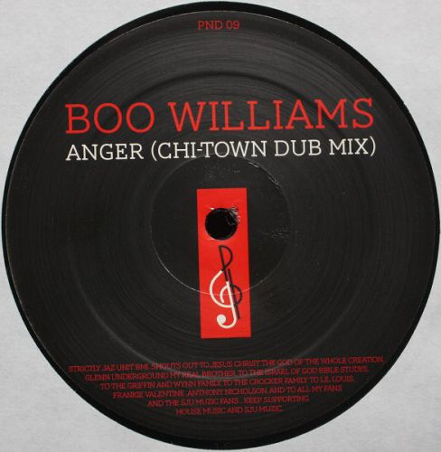<a href=\'\'>Boo Williams</a> - Anger