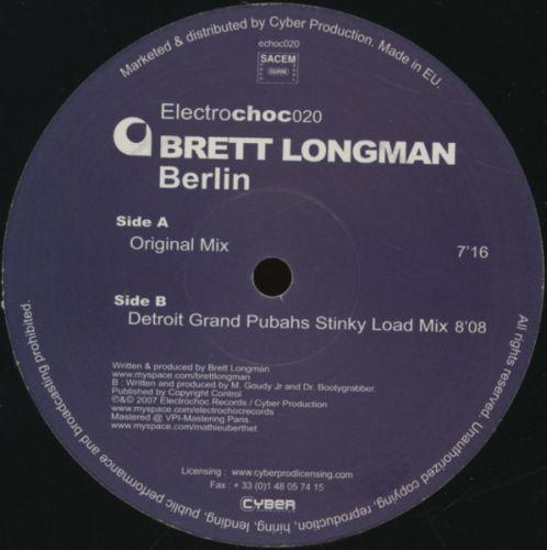 <a href=\'\'>Brett Longman</a> - Berlin (<a href=\'\'>Detroit Grand Pubahs</a> remix)