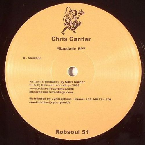 <a href=\'\'>Chris Carrier</a> - Saudade EP