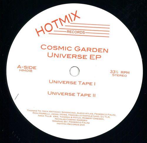 <a href=\'\'>Cosmic Garden</a> - Universe EP