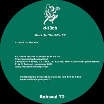 <a href=\'\'>D-t3ch</a> - Back To The 90\'s EP