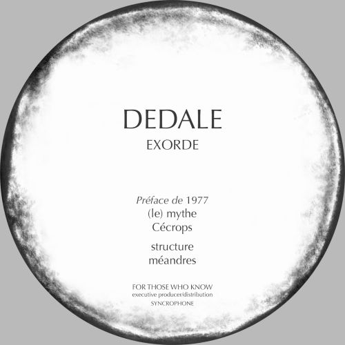 <a href=\'\'>Dedale</a> - Exorde (Préface by<a href=\'\'>1977</a>)