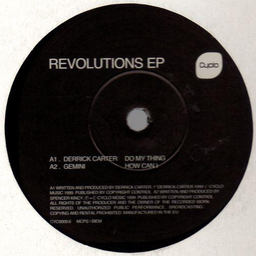 <a href=\'\'>Derrick Carter</a>, <a href=\'\'>Gemini</a>, <a href=\'\'>JT Donaldson</a>... - Revolutions EP