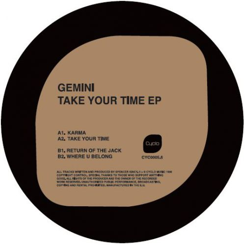 <a href=\'\'>Gemini</a> - Take Your Time EP