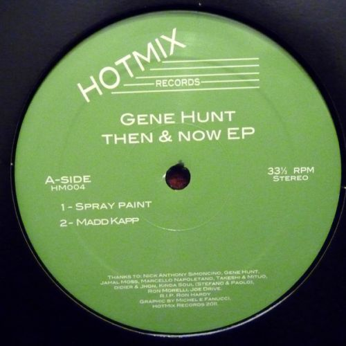 <a href=\'\'>Gene Hunt</a> - Then & Now EP