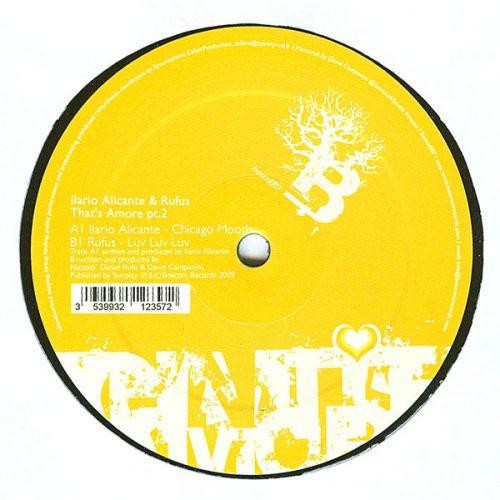 <a href=\'\'>Ilario Alicante</a> & <a href=\'\'>Rufus</a> - That\'s Amore EP Pt 2