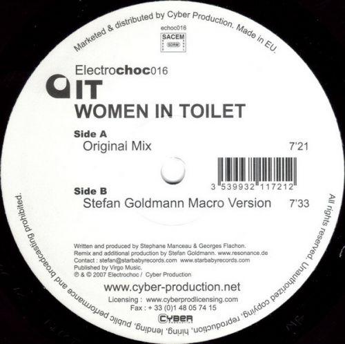 <a href=\'\'>IT</a> - Women In Toilet (<a href=\'\'>Stefan Goldmann</a> remix)