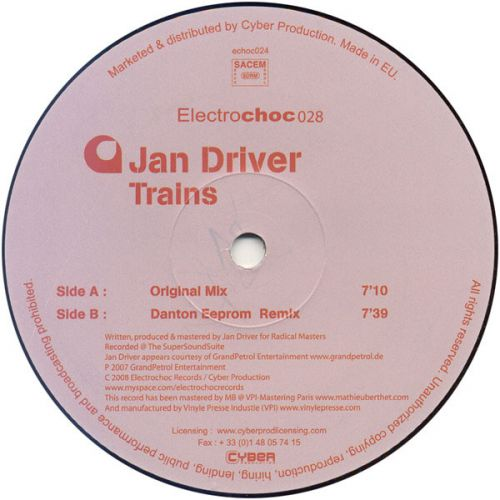 <a href=\'\'>Jan Driver</a> - Trains (<a href=\'\'>Danton Eeprom</a> remix)