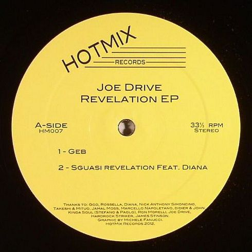<a href=\'\'>Joe Drive</a> - Revelation EP