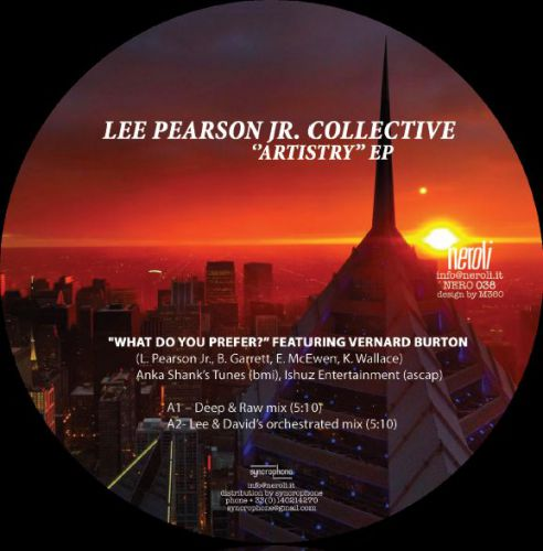 <a href=\'\'>Lee Pearson Jr. Collective</a> - Artistry EP