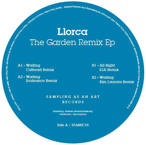 <a href=\'\'>Llorca</a> -  The Garden Remix EP