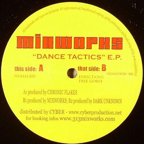 <a href=\'\'>Mixworks</a>, <a href=\'\'>Chronic Flakes</a>, <a href=\'\'>Dark Unknown</a> - Dance Tactics Ep