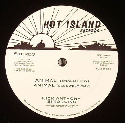 <a href=\'\'>Nick Anthony Simoncino</a> - Animal (<a href=\'\'>Legowelt</a> remix)