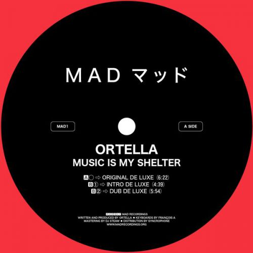 <a href=\'\'>Ortella</a> - Music Is My Shelter