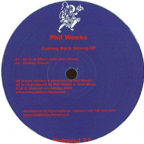 <a href=\'\'>Phil Weeks</a> - Coming Back Strong EP