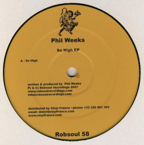 <a href=\'\'>Phil Weeks</a> - So High EP