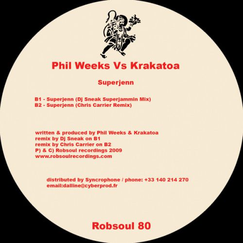 <a href=\'\'>Phil Weeks</a> vs Krakatoa - Superjenn DJ Sneak,C.Carrier rmxs