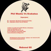 <a href=\'\'>Phil Weeks</a> vs Krakatoa - Superjenn DJ Sneak,C.Carrier rmxs