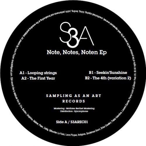 <a href=\'\'>S3A</a> - Note Notes Noten EP