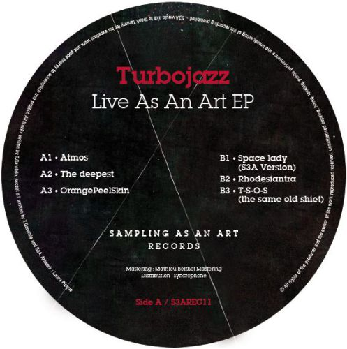 <a href=\'\'>Turbojazz</a> - Live As An Art EP