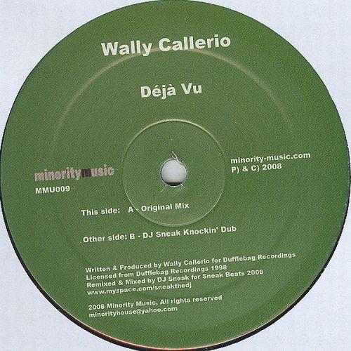 <a href=\'\'>Wally Callerio</a> - Déjà Vu