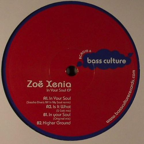 <a href=\'\'>Zoë Xenia</a> - In Your Soul EP (<a href=\'\'>Sasha Dive</a> remix)