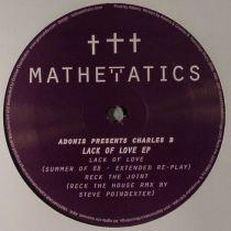 Adonis Presents Charles B - Lack Of Love Ep