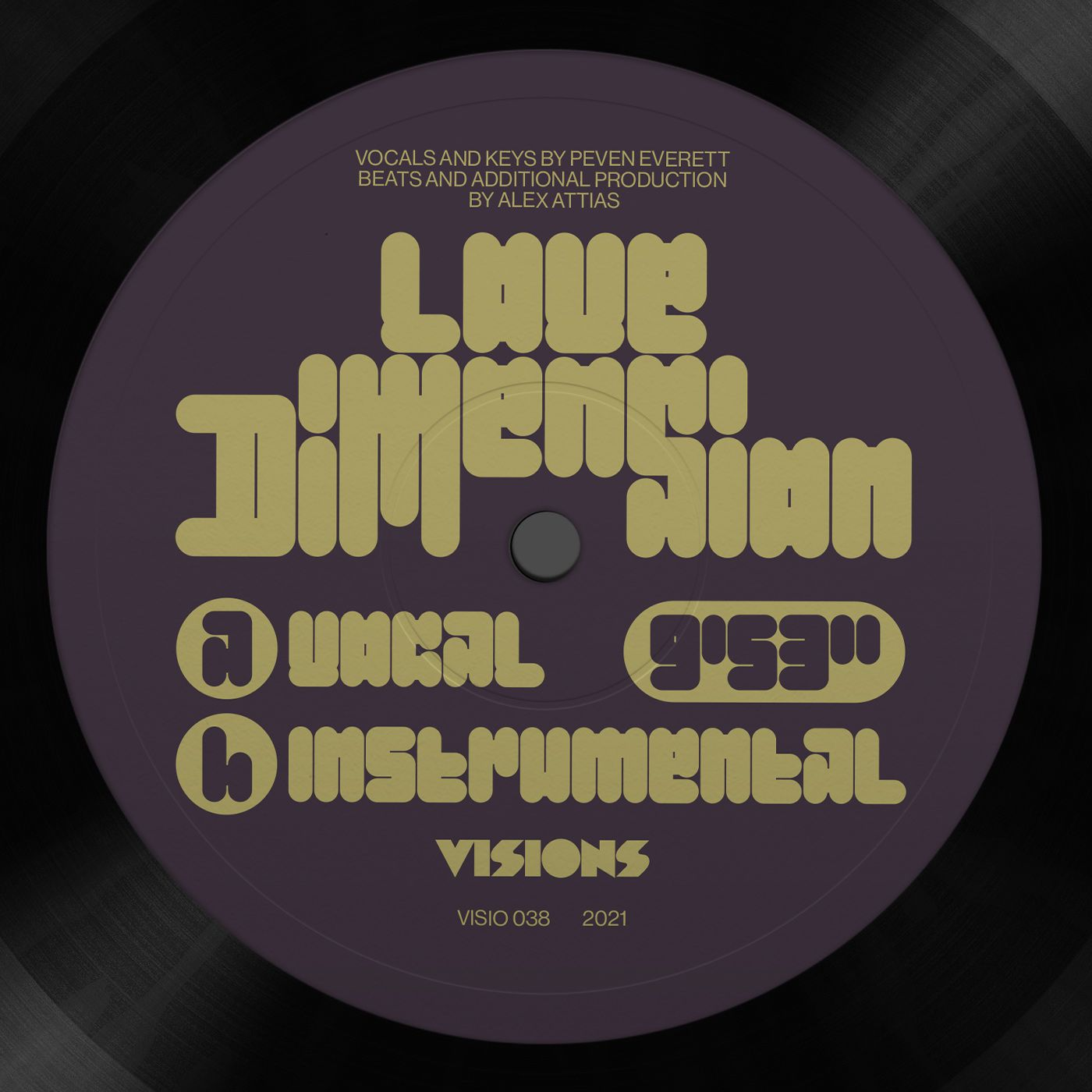 Alex Attias & Peven Everett - Love Dimension