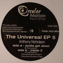 Anthony Nicholson - Universal EP 5