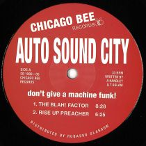 Auto Sound City - Don't Give a Machine Funk!