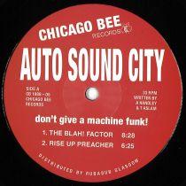 Auto Sound City - Don't Give a Machine Funk!