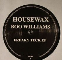Boo Williams - Freaky Teck EP