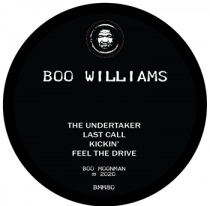 Boo Williams - The Undertaker [reissue]