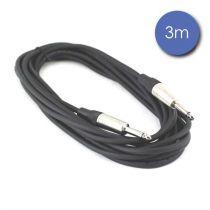 Câble 3m - JACK MONO Mâle - JACK MONO Mâle