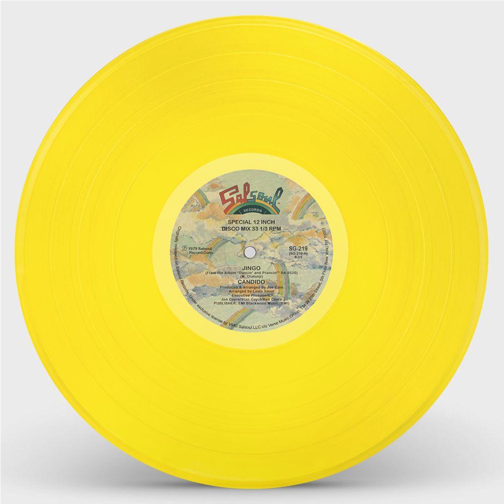Candido -Jingo / Thousand Finger Man (Yellow Vinyl Repress)