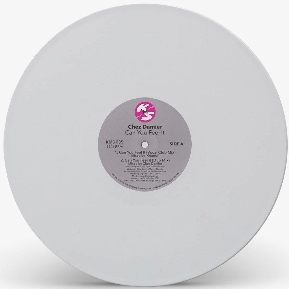 Chez Damier - Can U Feel It? (White Vinyl Repress)