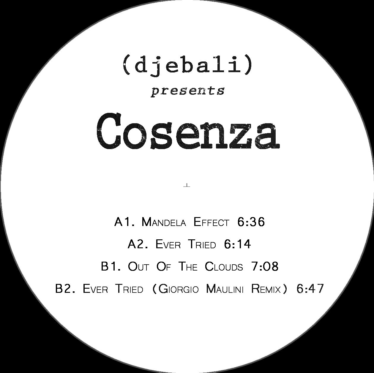 Cosenza - EP Giorgio Maulini remix