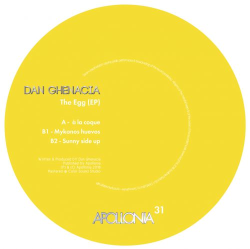 Dan Ghenacia - The Egg EP