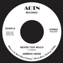 Derrick Cross - Never Too Much