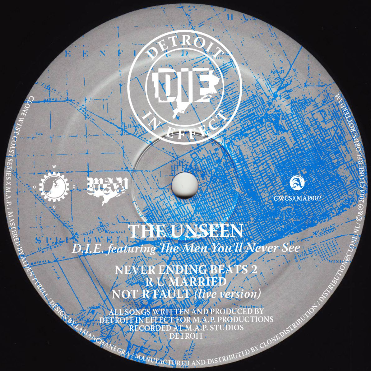D.I.E feat. The Men You\'ll Never See - The Unseen