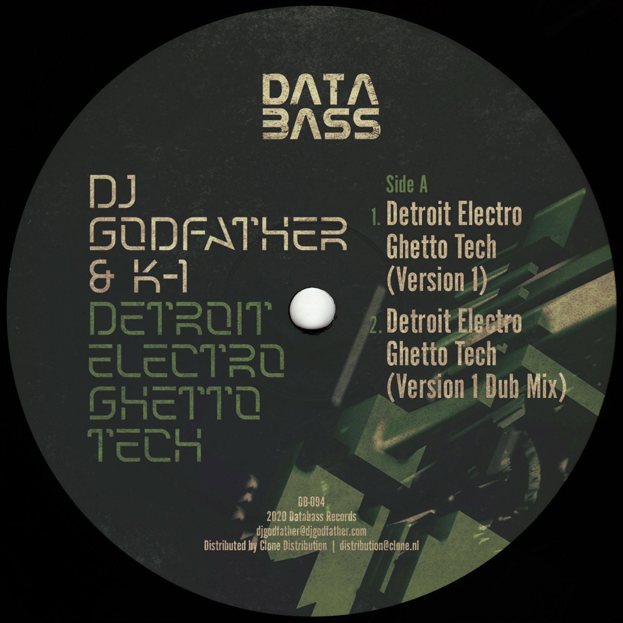 DJ Godfather & K-1 - Detroit Electro Ghetto Tech