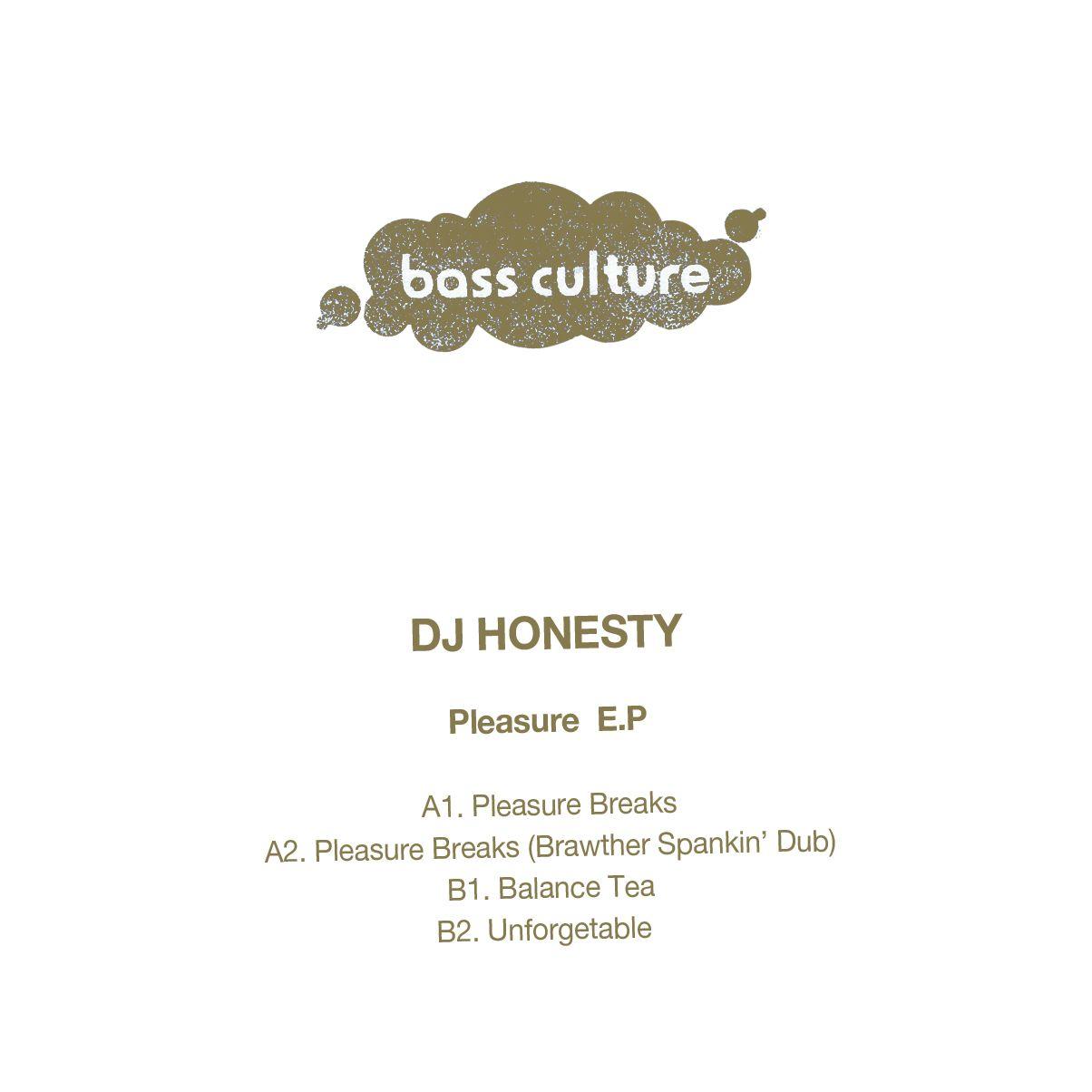DJ Honesty - Pleasure E.P.